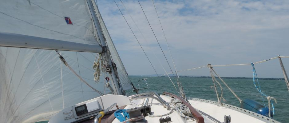 Sommertag auf der Yacht