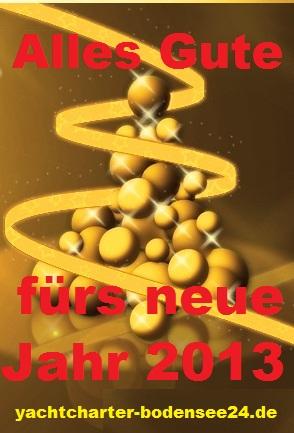 Alles Gute fürs neue Jahr 2013!